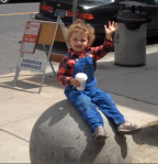 Zaden on a ball
