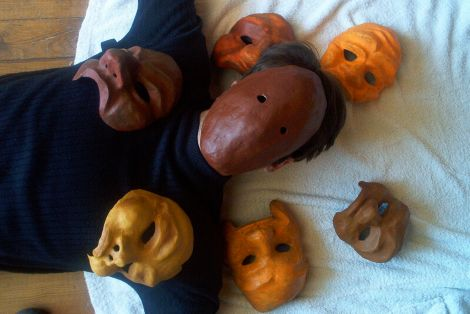 Caelan and his masks