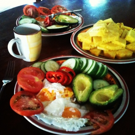 A tipico breakfast.