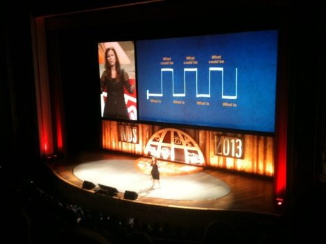 Nancy Duarte at World Domination Summit