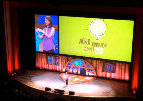 Gretchen Rubin at WDS