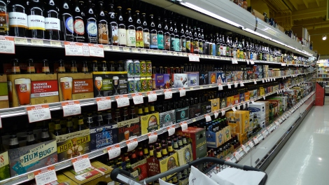 new seasons beer aisle