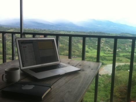 Laptop Living in Costa Rica