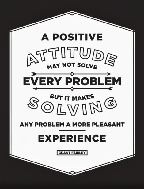 Grant Fairley positive thinking quote