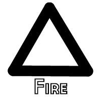 elemental fire alchemical symbol