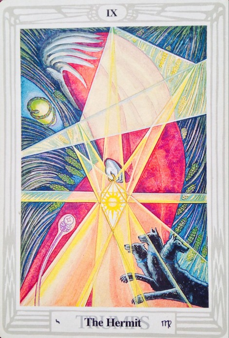 The Hermit Thoth Tarot